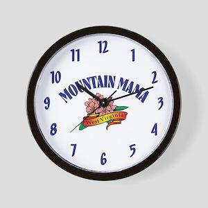 Mountain Mama Wall Clock