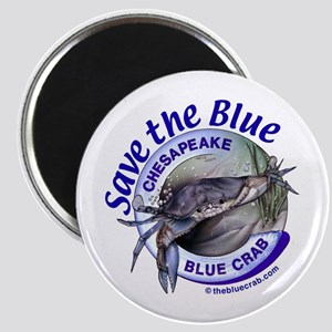 """Save the Blue"" Magnet"