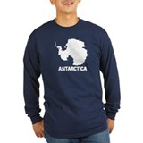 Antarctica Long Sleeve T Shirts