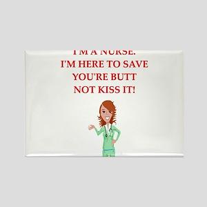 nurses Rectangle Magnet
