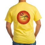 Just Say No To Drugs Yellow T-Shirt