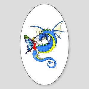 Dragon Tamer Oval Sticker
