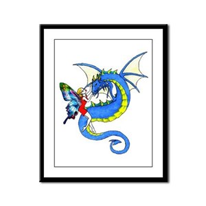 Dragon Tamer Framed Panel Print