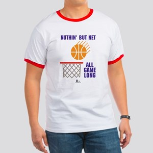 Nuthin' But Net All Day Long Ringer T
