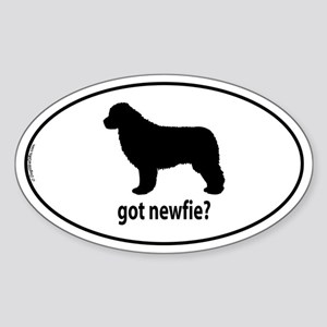 Got Newfie? Oval Sticker
