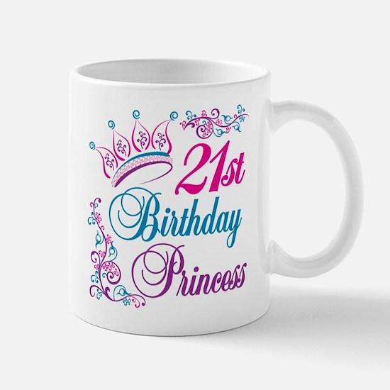 21st Birthday Princess Mug