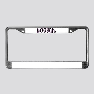 Booyah License Plate Frame