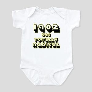 1980 to 1989 was Totally Radi Infant Bodysuit
