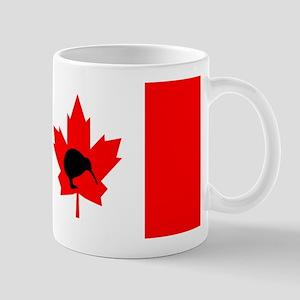 Canadian Flag Kiwi Mug