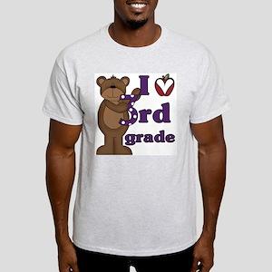 Loves 3rd Grade Light T-Shirt