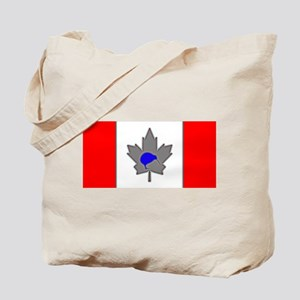 Ice Blue Canadian Kiwi Tote Bag