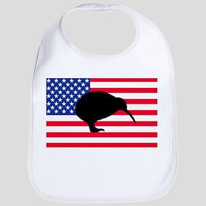 U.S. Kiwi Flag Bib