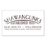 Shawangunks First Ascent Sticker (Rectangle 10 pk)