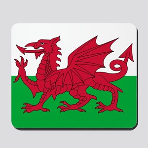 Welsh flag of Wales Mousepad