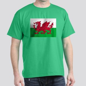 Welsh flag of Wales Dark T-Shirt