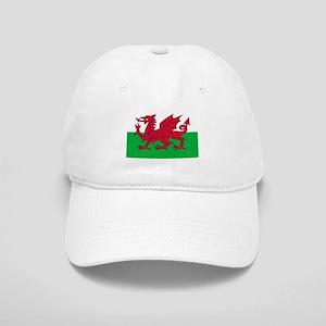 Welsh flag of Wales Cap