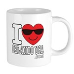 I Love Orlando USA Mugs