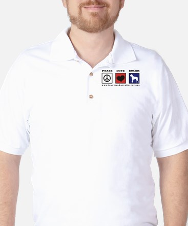 Peace Love Boxers - Lone Star Golf Shirt
