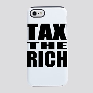Tax The Rich iPhone 8/7 Tough Case