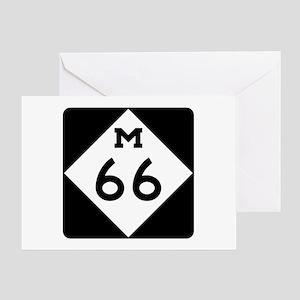 M-66, Michigan Greeting Cards