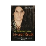"Sweet Truth ""The Witch"" Magnet Magnets"