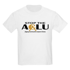 Aging Communist Lawyers Union Kids T-Shirt
