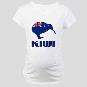 New Zealand Kiwi Maternity T-Shirt