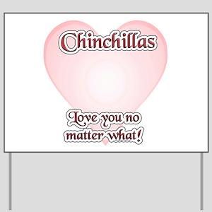 Chinny Love U Yard Sign