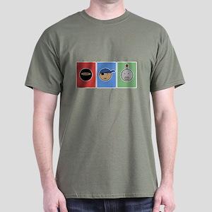 ninja pirate robot Dark T-Shirt