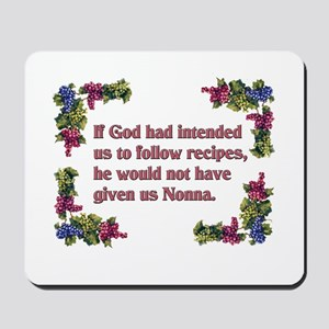Nonna's Recipe Mousepad