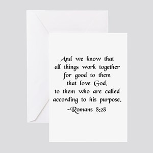 """All Things Work For Good"" Greeting Cards (Package"