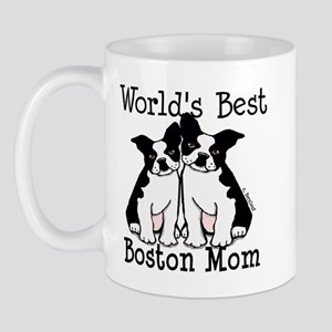 World's Best Boston Mom Mug