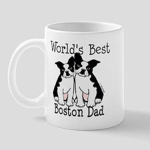 World's Best Boston Dad Mug