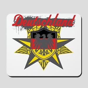 Deutschland Star Mousepad