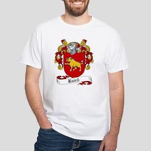 Baird Family Crest White T-Shirt