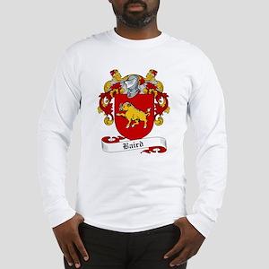 Baird Family Crest Long Sleeve T-Shirt