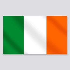 Irish flag of Ireland Rectangle Sticker