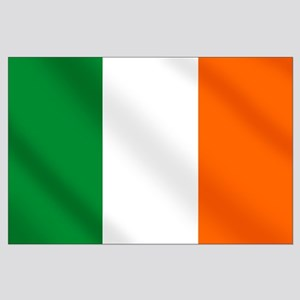 Irish flag of Ireland Large Poster