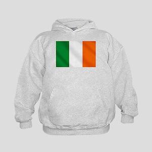Irish flag of Ireland Kids Hoodie