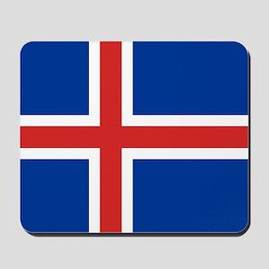 Flag of Iceland Mousepad