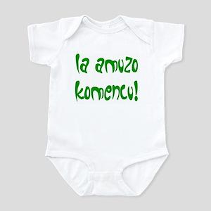 Let the Fun Begin Infant Bodysuit