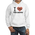 I Love The Arctic Sweatshirt