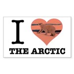 I Love The Arctic Sticker