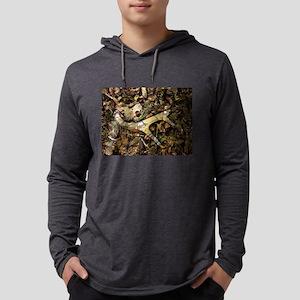camouflage deer antler Long Sleeve T-Shirt
