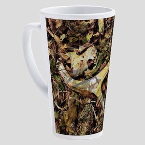 Rustic camouflage 17 oz Latte Mug