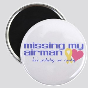 Missing My Airman Magnet