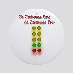 Drag Race Christmas Tree Ornament (Round)