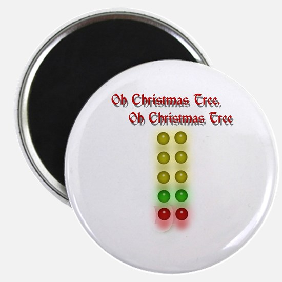 Drag Race Christmas Tree Magnet