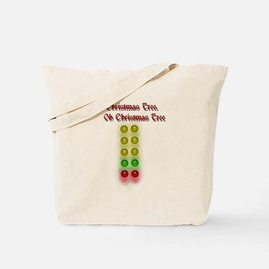 Drag Race Christmas Tree Tote Bag