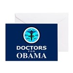 DOCTORS FOR OBAMA Greeting Card